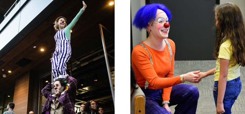 Clowns are more people-y than people.